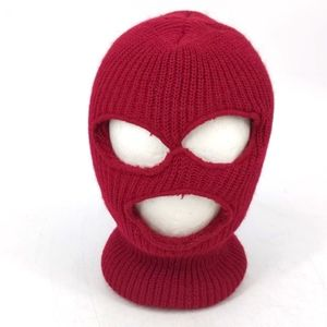 Vintage Warm Double Thickness Robber Mask Hat